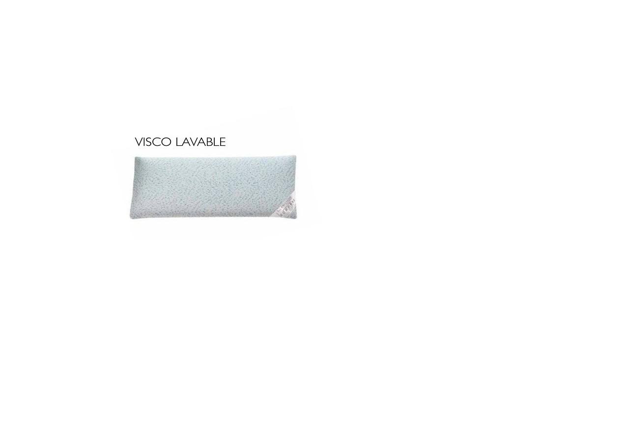 ALMOHADA VISCO LAVABLE