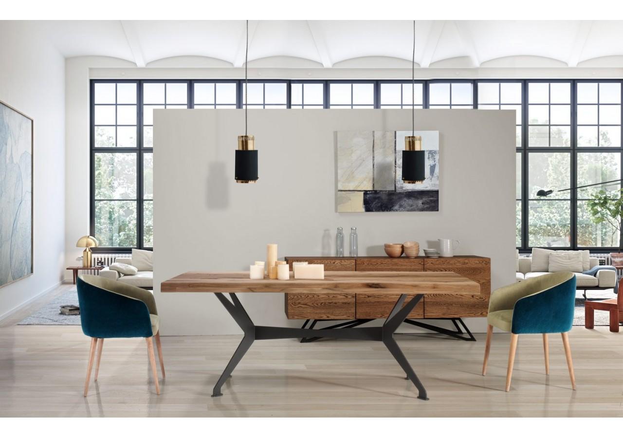 mesa de comedor vintage wild oak