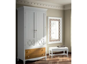 Armario 2 puertas madera BASILEA