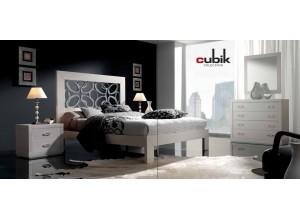 Dormitorio con bancada CUBIK
