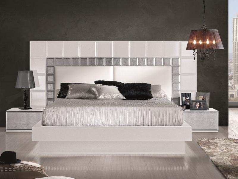Dormitorio natassia - Dormitorios lacados en blanco ...