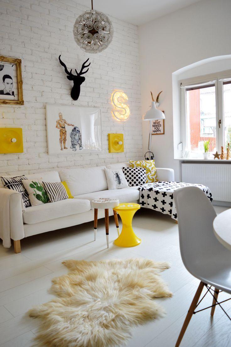 Salones pequeos con estilo cool claves para decorar un - Salones con estilo ...