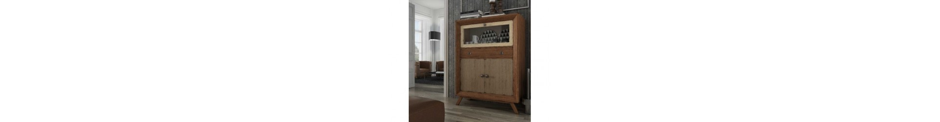 Mueble bar y licoreras