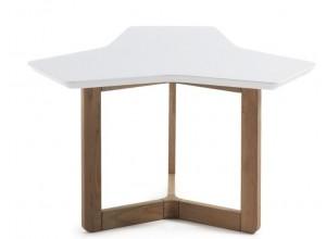 Mesa de rincón TRIANGLE ROBLE