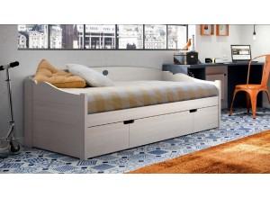 Sofá cama DANAE con tres cajones
