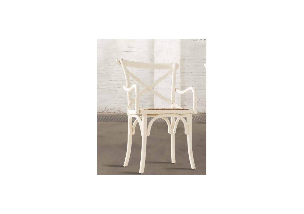 Set 2 sillas con brazos CHIPRE