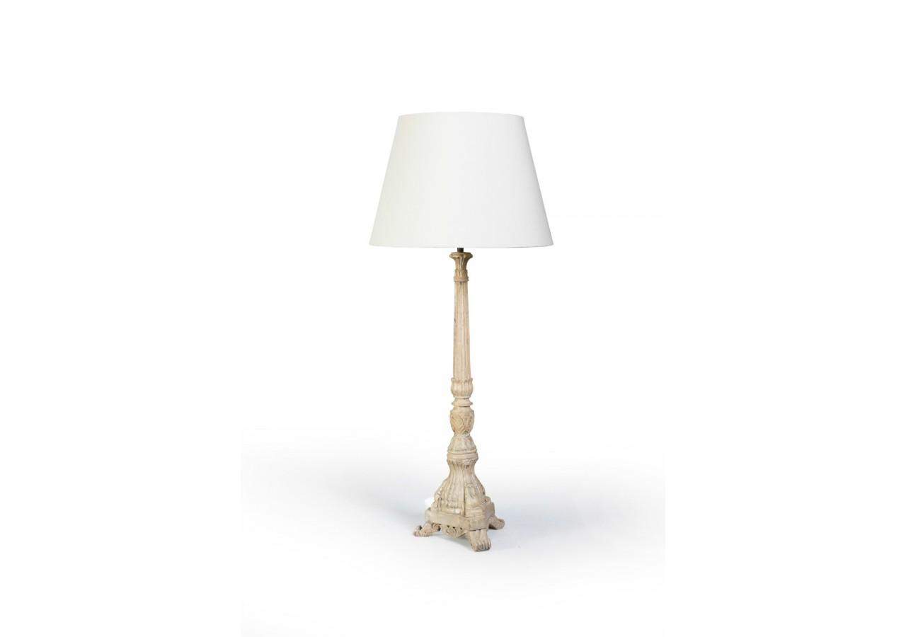 LAMPARA DE SOBREMESA LOG ARTISAN