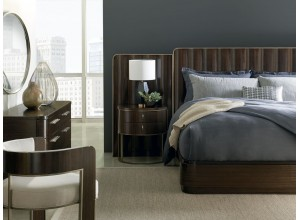 CAMA MODERNA STREAMLINE KING