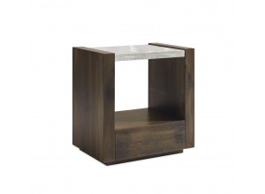 MESA DE NOCHE MODERNA BEST IN GLASS ARTISAN
