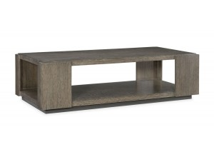 MESA DE CENTRO MODERNA RECTANGULAR EN MADERA DE ROBLE FUSION ELEMENTS COCKTAIL