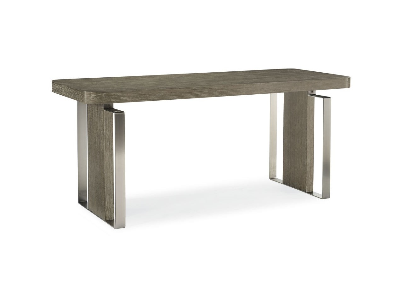 ESCRITORIO MADERA DE ROBLE FUSION WRITING DESK