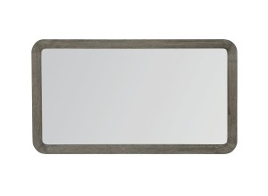 ESPEJO MODERNO RECTANGULAR MARCO DE MADERA DE ROBLE FUSION ELEMENTS MIRROR