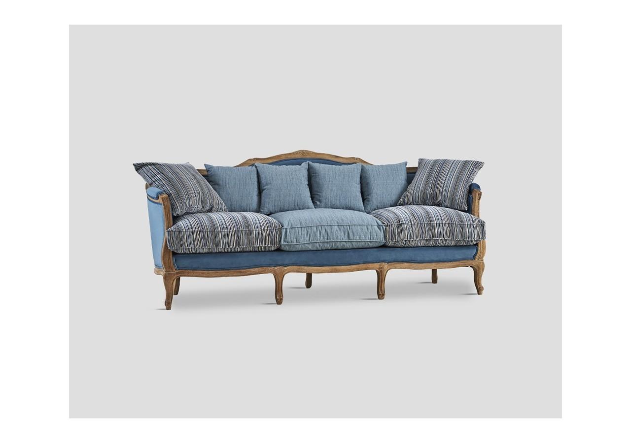 Sofa Tres Plazas.Sofa Tres Plazas En Madera De Roble Db005794 Cuorebello