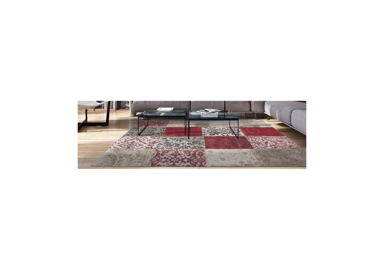 ALFOMBRA PATCHWORK CHENILLE