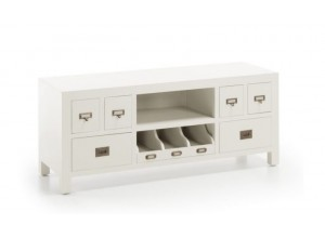 MUEBLE TV COLONIAL NEW WHITE