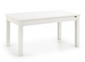 MESA DE COMEDOR EXTENSION LATERAL COLONIAL NEW WHITE