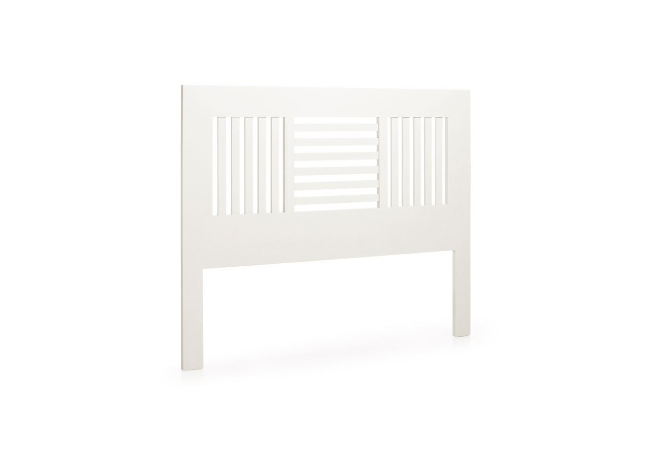 CABECERO BARROTES COLONIAL NEW WHITE