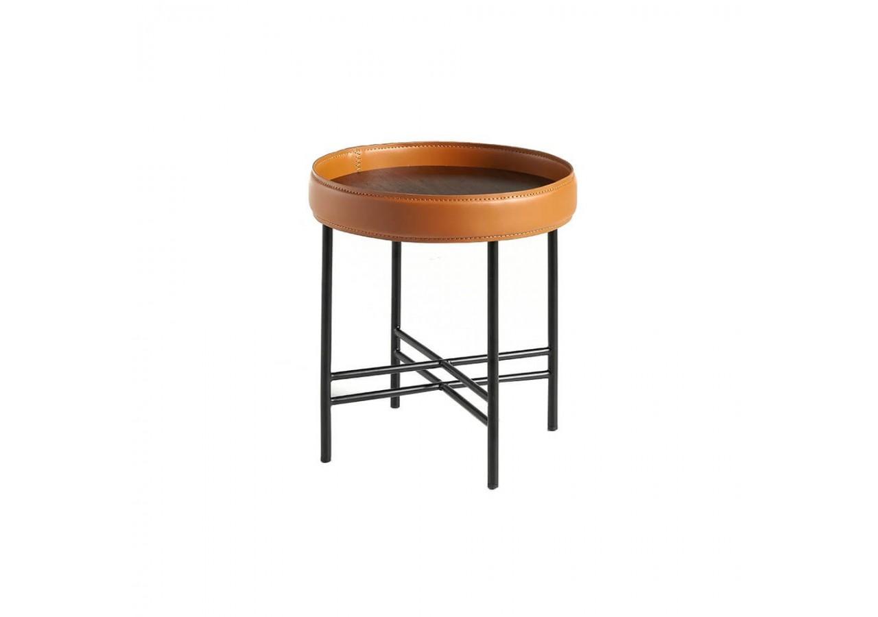 Mesa de rincón madera de Nogal CT1006-1AA