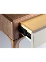 Consola de pino y nogal BRG1702-2