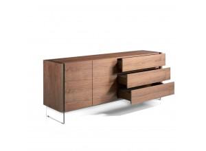 Aparador de madera de Nogal CP1803-E-NOGAL