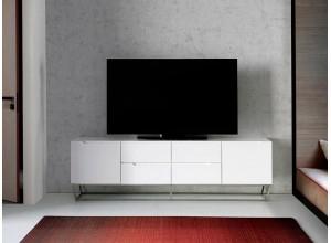 Mueble de TV Lacado CP1801-TV-BLANCO