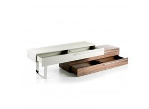 Mueble de Televisión patas y tiradores de Acero Inoxidable CPM5336