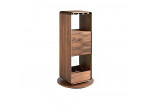 Mueble Bar Giratorio Nogal BRG3615E
