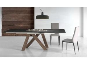 Mesa de comedor extensible Tree