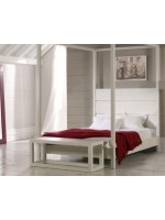 CAMA COLONIAL DOSEL RECTA