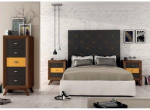 Ambiente de dormitorio VINTAGE  PARIS 1