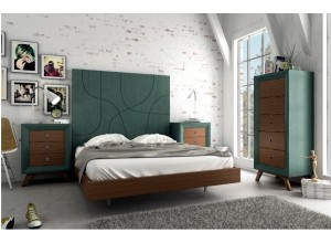 Ambiente de dormitorio VINTAGE PARIS 3