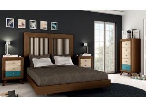 Ambiente de dormitorio VINTAGE PARIS 7