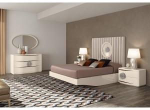Ambiente de dormitorio LONDRES ACERO