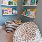 rincón lectura hogar