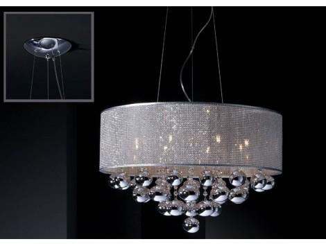 Lámpara Colgante Andrómeda 8L