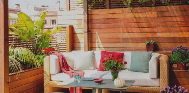 decoracion terraza pequena