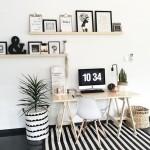 Espacio de trabajo en casa que invita a trabajar