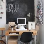 Extraordinario espacio de trabajo en casa