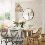 Combinar mesas de comedor con sillas diferentes