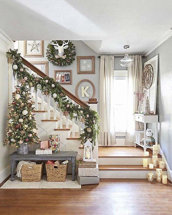ideas decoracion navidad Ideas Para Decorar Tu Casa De Navidad Con Mucho Estilo