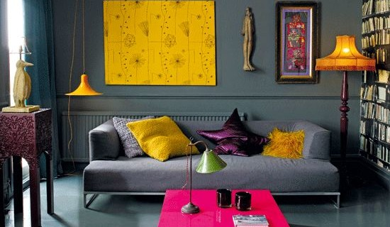 Tendencias decoración de interiores 2019: estilo POP ART