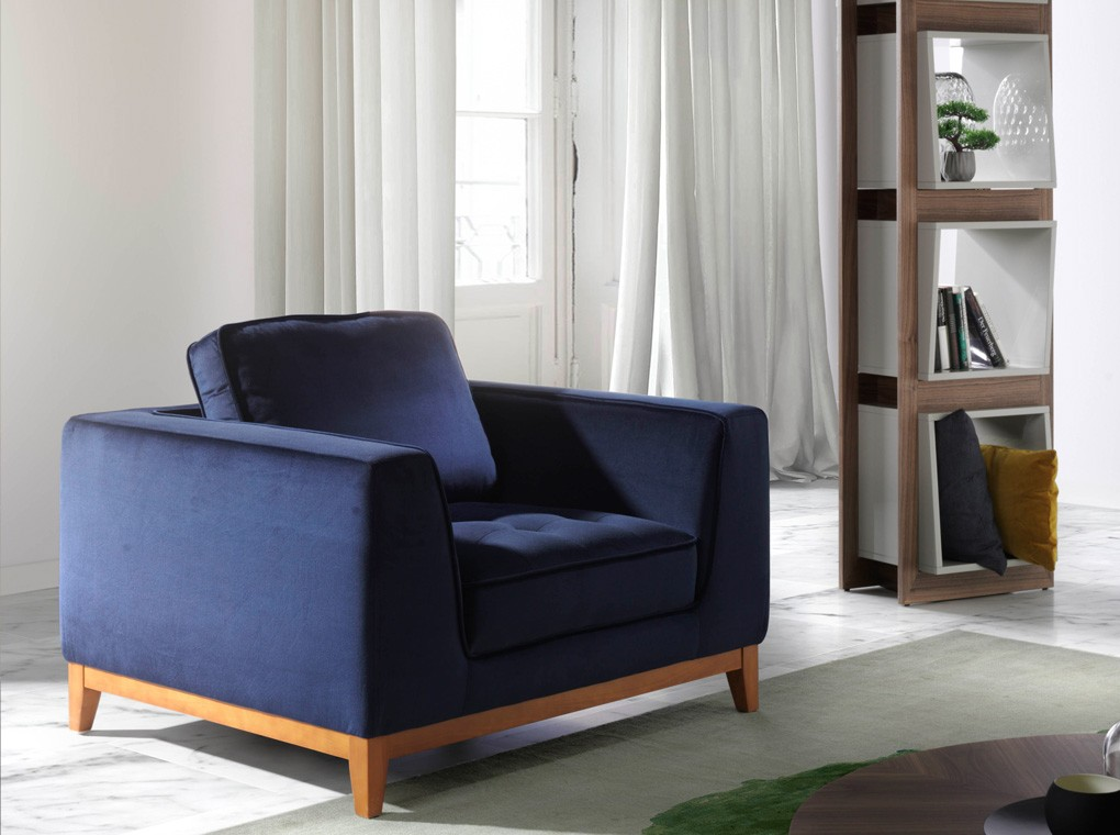 sillon classic blue