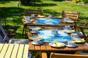 decorar jardines rústicos