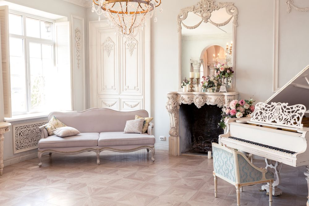 salón romántico