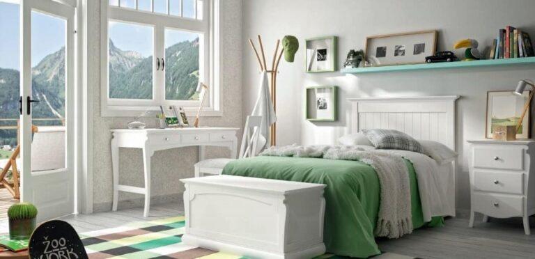Dormitorio con interiorismo emocional